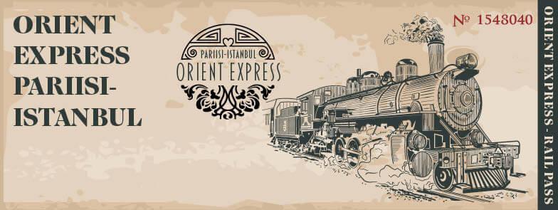 Idän pikajuna Orient Express – Ladyjen hyväntekeväisyysgaala